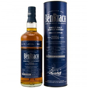 Benriach 2006/2018 Single Cask 5295 11 Jahre Pedro Ximenez Puncheon