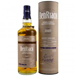 Benriach 2007/2018 Single Cask No. 7610 11 Jahre Rum Barrel