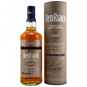 Benriach 2007/2018 Single Cask No. 7722 10 Jahre Virgin Oak