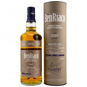 Benriach 2007/2018 Single Cask No. 8731 10 Jahre Moscatel Cask