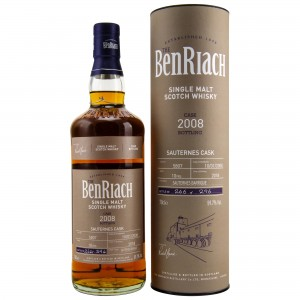 Benriach 2008/2018 Single Cask No. 5807 10 Jahre Sauternes Barrique