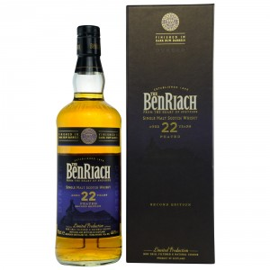 Benriach 22 Jahre Dunder Peated 2nd Edition