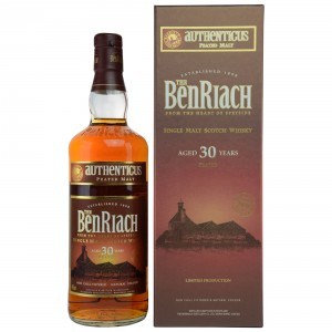 Benriach Authenticus 30 Jahre Peated