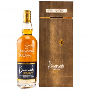 Benromach 1998/2018 20th Anniversary Bottling