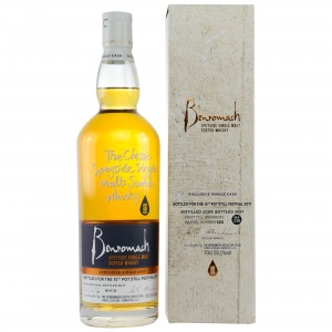 Benromach 2009/2017 Single Cask 116 First Fill Bourbon Barrel
