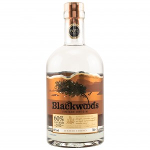 Blackwoods 2012 Vintage Dry Gin 60% Superior