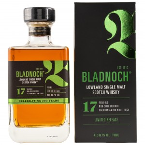 Bladnoch 17 Jahre Californian Red Wine Expression