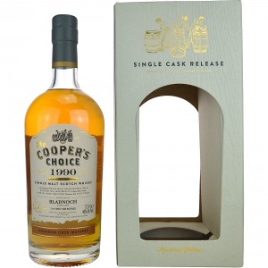 Bladnoch 1990/2016 Bourbon Cask Matured (Vintage Malt Whisky Whisky Company - The Cooper's Choice)
