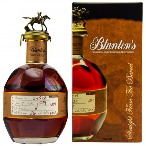 Blantons Straight from the Barrel No. 1594 (USA: Bourbon)