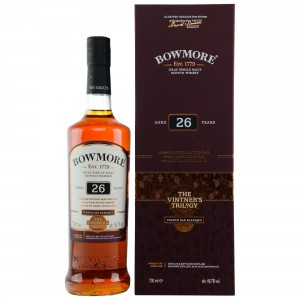 Bowmore 26 Jahre French Oak Barrique Vintner's Trilogy 2 of 3