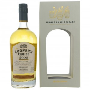 Bowmore 2002/2017 Bourbon Cask Matured (Vintage Malt Whisky Company - The Coopers Choice)