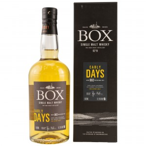 Box Whisky Early Days Batch 002 (Schweden)
