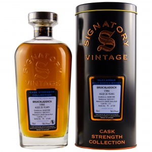 Bruichladdich 1990/2017 Sherry Butt Single Cask No. 172 (Signatory Cask Strength Collection)