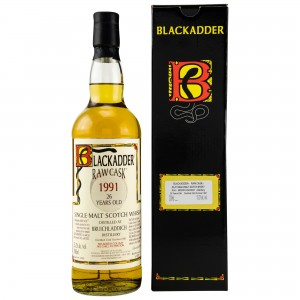 Bruichladdich 1991/2018 26 Jahre Single Cask No. 3045 (Blackadder Raw Cask)