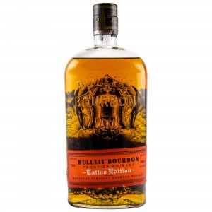 Bulleit Bourbon Frontier Whiskey Tattoo Edition