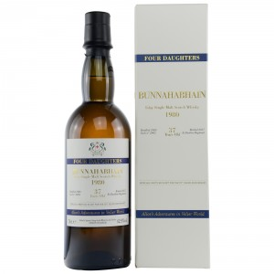 Bunnahabhain 1980/2017 Cask No. 2905 Four Daughters 70th Anniversary Velier (Signatory)