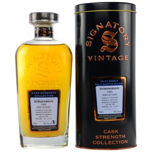 Bunnahabhain 1989/2018 Cask No. 5861 (Signatory Cask Strength Collection)