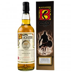 Bunnahabhain 2007/2018 10 Jahre Single Cask No. 800002 (Blackadder Raw Cask)
