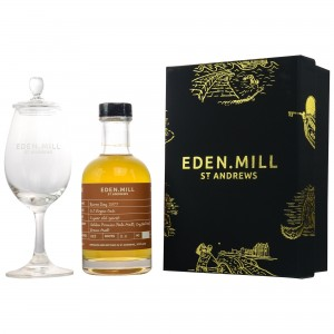 Eden Mill Burns Day 2015/2017 2 Jahre Spirit + Glas (200ml)