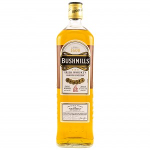 Bushmills Irish Whiskey Smooth & Mellow (Liter)