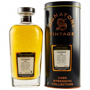 Caledonian Single Grain 1987/2018 Cask No. 18504 (Hogshead) (Signatory Cask Strength)