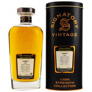 Cambus 1991/2017 Single Grain - Cask No. 55893 (Refill Butt) (Signatory Cask Strength)