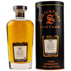 Cambus 1991/2018 Single Grain Refill Sherry Butt No. 55894 (Signatory Cask Strength)
