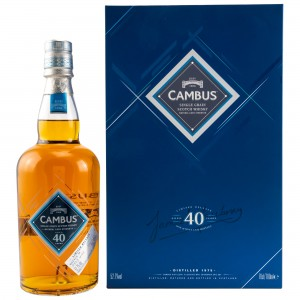 Cambus 40 Jahre Single Grain - Cask Strength Limited Release