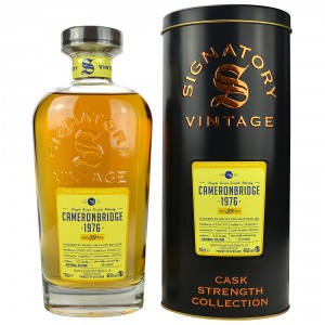 Cameronbridge 1976/2015  Single Grain (Signatory Cask Strength)