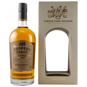 Cameronbridge 1982/2018 36 Jahre Bourbon Single Cask No. 8283 (Vintage Malt Whisky Company - The Coopers Choice)