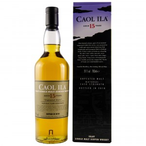 Caol Ila 15 Jahre Unpeated Special Release 2018