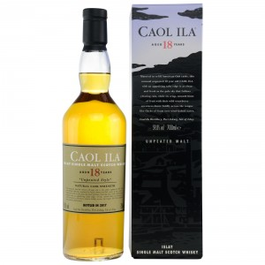 Caol Ila 18 Jahre - unpeated - Limited Edition Natural Cask Strength