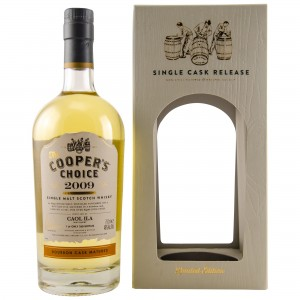 Caol Ila 2009/2018 8 Jahre Bourbon Single Cask No 321581 (The Coopers Choice)