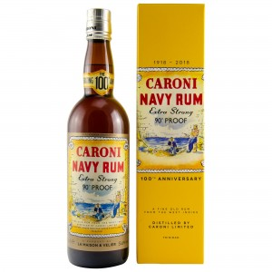 Caroni Navy Rum 100th Anniversary 18 Jahre 90 Proof