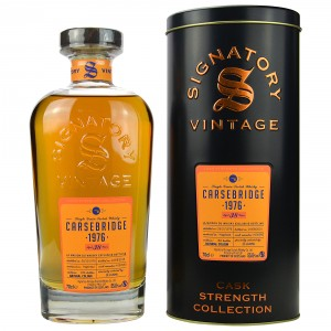 Carsebridge 1976/2015 Single Grain (Signatory Cask Strength)