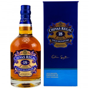 Chivas Regal 18 Jahre Gold Signature