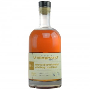 Cleveland Underground American Bourbon Finished with Honey Locust Wood - Bottled for Germany (USA: Bourbon)