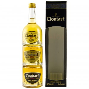 Clontarf Trinity Miniaturen Tasting Set Irish Whiskey (Irland)