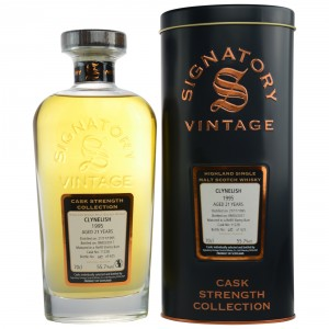 Clynelish 1995/2017 - Cask No. 11228 (Refill Sherry Butt) - (Signatory Cask Strength)
