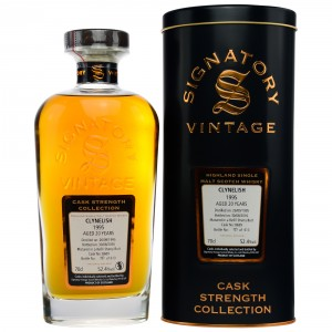 Clynelish 1995/2016 - Cask No. 8689 (Refill Sherry Butt) - (Signatory Cask Strength)