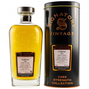 Clynelish 1995/2017 Cask No. 8672 (Signatory Cask Strength)