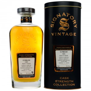 Clynelish 1995/2017 - Cask No. 8688 (Refill Sherry Butt) - (Signatory Cask Strength)