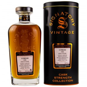 Clynelish 1995/2018 Cask No. 8674 (Refill Sherry Butt) (Signatory Cask Strength)