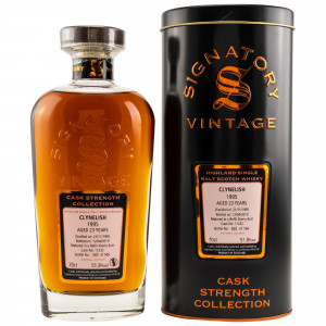 Clynelish 1995/2019 23 Jahre Cask No. 11232 (Signatory Cask Strength)