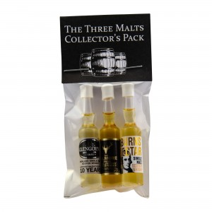 The Three Malts Collector's Pack Malt 3 x 0,0012 Micro Miniaturen