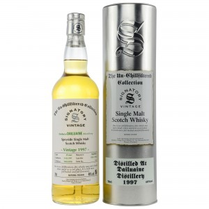 Dailuaine 1997/2018 Cask No. 7223+7224 (Signatory Un-Chillfiltered)