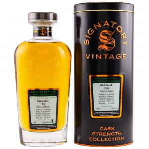 Dailuaine 1998/2019 20 Jahre Cask Nr. 11370+11371 (Signatory Cask Strength Collection)
