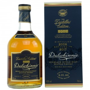 Dalwhinnie Distillers Edition 2002/2017 Double Matured in Oloroso Sherry Casks