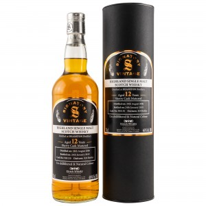 Deanston 2006/2019 Sherry Cask No. 900130 (Signatory Un-Chillfiltered)