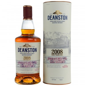 Deanston 2008/2017 9 Jahre Bordeaux Red Wine Cask Matured